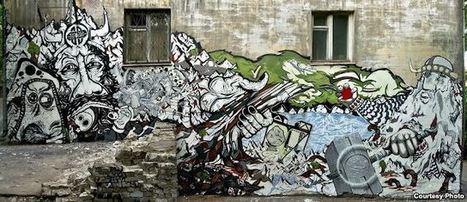 Russian Street Artist Gives Urban Life A Facelift | Spero News | World of Street & Outdoor Arts | Scoop.it