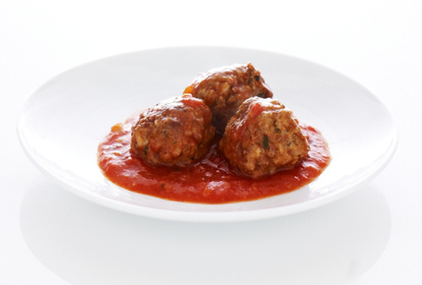 Veal Meatballs | Meat Recipies | Scoop.it