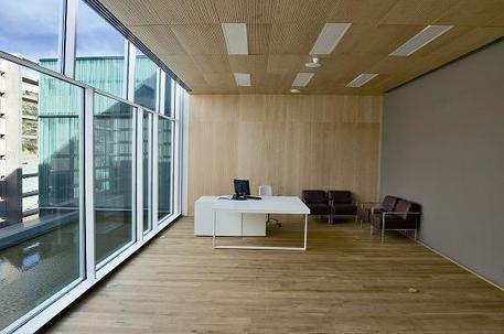 Revêtements intérieurs des bureaux - 10 Exemples | Aménagement des espaces de vie | Scoop.it