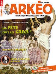 La fête chez les Grecs | Arkéo Junior n° 233 | Revue de presse - Nouveautés à retrouver au CDI | Scoop.it