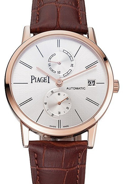 Fake Piaget Altiplano Date Silver Dial Rose Gold Case Watch | Men's & Women's Replica Watches Collection Online | Scoop.it