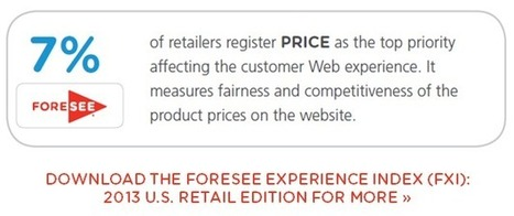 Retailers: Price Doesn't Matter as Much as You Think | ForeSee | ForeSee Original Research - Customer Experience Analytics | Scoop.it