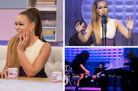 VIDEO: Rebecca Ferguson collapses live on TV as she performs on Loose Women | Ready for the meltdown | Scoop.it