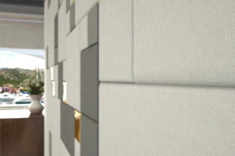 Come scegliere il colore delle pareti ?   Leather Wall Tiles and Leather Floor Tiles   Leather tiles Lapèlle design   Scoop.it