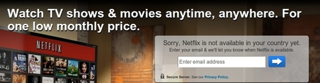 How to Unblock Netflix for Europe with only one simple extensions !   Operating Systems   Scoop.it