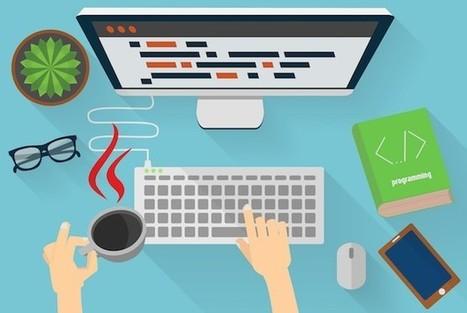 #Infographie : Salaire, spécialité, type de contrat : quel est le profil type du développeur français ? - Maddyness | Politique salariale et motivation | Scoop.it