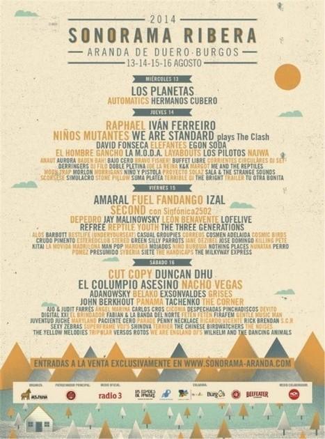 Sonorama 2014: cien bandas, música, campo y Raphael I El Corso | SONORAMA 2014 | Scoop.it