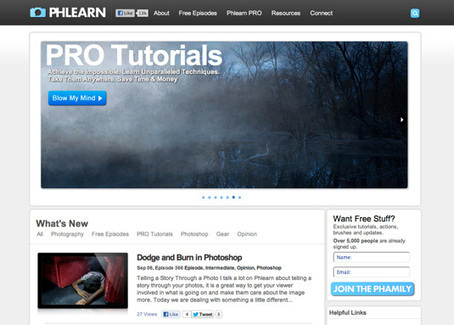 10 top Photoshop resources | Risorse per Web Designers | Scoop.it