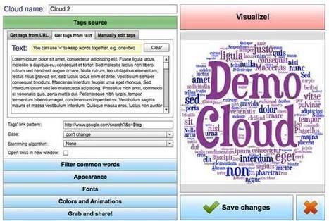 Tagul, nubes de palabras interactivas | Estrategias educativas innovadoras | Scoop.it