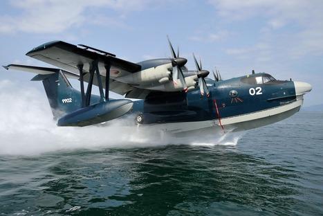 Zoom sur l'avion amphibie japonais, le US-2 de ShinMaywa | DEFENSE NEWS | Scoop.it