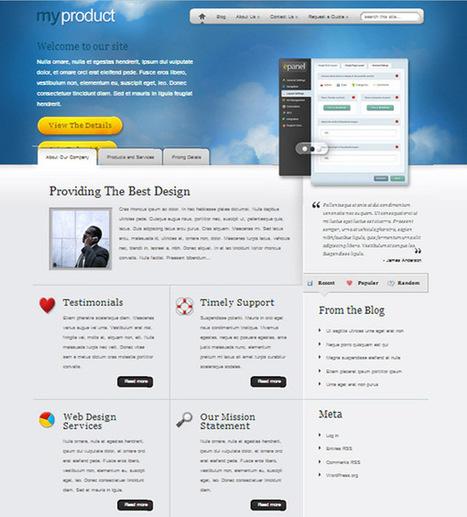 30+ Best Of The Best Business WordPress Themes Tech Cyclo   WordPress   Scoop.it