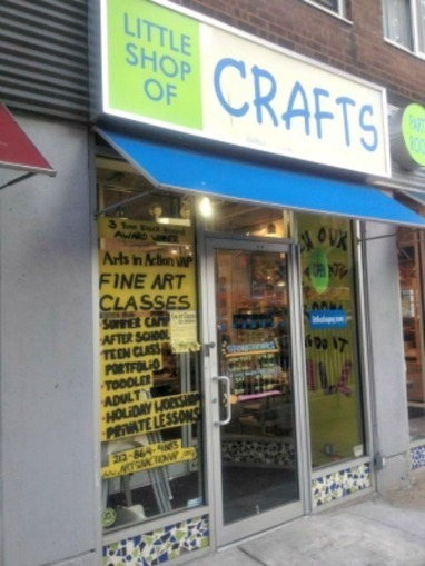 Mom's Night Out NYC: Little Shop of Crafts - Mom in the City   New York Parenting   Scoop.it