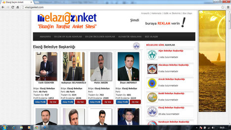 Elazığ milletvekili adayları | Buse Soydan | Scoop.it
