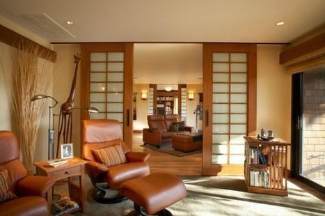 10 Sliding interior doors – a practical and stylish alternative for all types of homes | Designing Interiors | Scoop.it