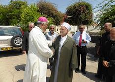 Le Mufti de Jérusalem visite le sanctuaire de Tabgha   Echos des Eglises   Scoop.it