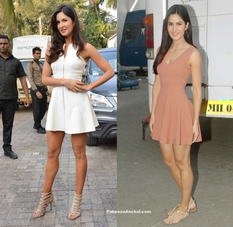 Katrina Kaif shows Off her Well-toned Legs in Skirts | Indian Fashion Updates | Scoop.it