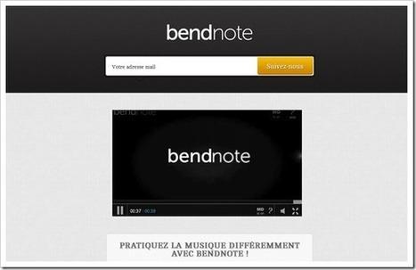BendNote – Démocratise l'apprentissage et le perfectionnement musical en mettant l'accent sur le côté ludique... | L'Univers du Cloud Computing dans le Monde et Ailleurs | Scoop.it