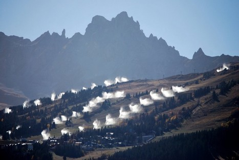 Canons à neige à Courchevel... - Altermonde-sans-frontières | Revue de Presse du Grand Tourmalet Pic du Midi | Scoop.it