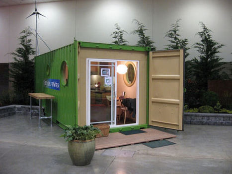 ShelterKraft Werks Designs and Builds Sustainable Custom Shipping Container Homes | Goat and Pig | Scoop.it