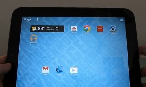 HP TouchPad gains Android Jelly Bean port by CM10 » Phone Reviews | #webOS Touchpad | Scoop.it