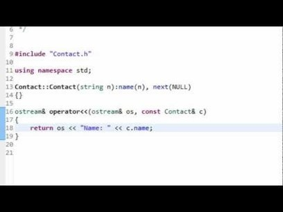 Data Structures: Linked Lists in C++ | C programming materials | Scoop.it