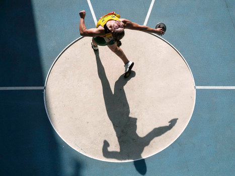 Sport picture of the day: discus from above | Travel Bites &... | Scoop.it