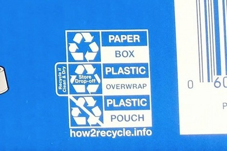 New labeling system guides people through how to recycle. | Le flux d'Infogreen.lu | Scoop.it