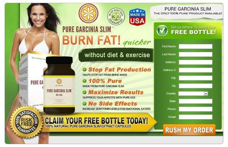 Pure Garcinia Slim Review – Burn Fat Quickly and Lose Weight! | Blake Soares | Scoop.it