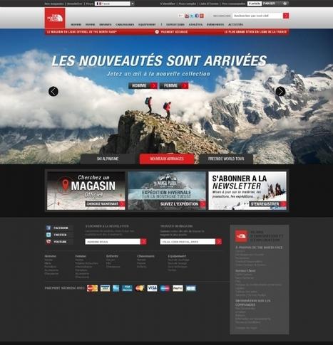 Multicanal et brand content, deux leviers digitaux pour the North Face | Création de marque | Scoop.it