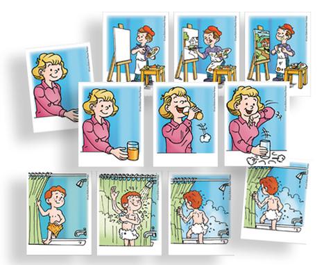 Les verbes/jeu interactif | fle enfants | Scoop.it