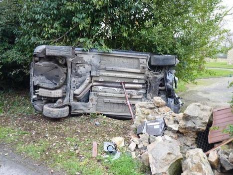 Un impressionnant accident de voiture à Marcey-les-Grèves | La Manche Libre avranches | Les news en normandie avec Cotentin-webradio | Scoop.it