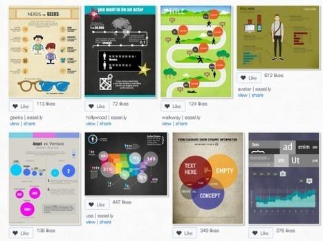 [Boîte à outils]5 applications pour créer sa propre infographie |FrenchWeb.fr | DigitalBreak | Scoop.it