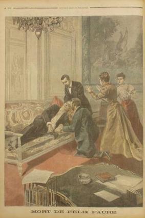 16 février 1899 : décès du président FELIX FAURE   Racines de l'Art   Scoop.it