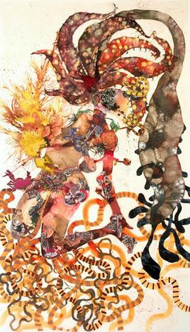Cyborg Humanism: Wangechi Mutu at Brooklyn Museum   Outbreaks of Futurity   Scoop.it