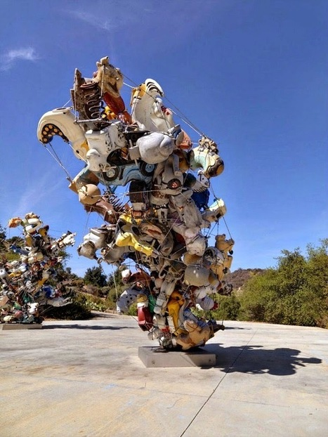 "Nancy Rubins: ""Our Friend Fluid Metal"" 