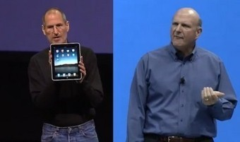 Microsoft Surface vs Apple iPad : la comparaison des présentations | Croquez l'Apple | Scoop.it