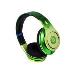 Monster Beats Studio Headphones Apple Green Nate Robinson MB172 | beats by dre nate robinson | Scoop.it