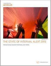 STATE OF INTERNAL AUDIT SURVEY REPORT | Thomson Reuters Accelus eLearning | Scoop.it