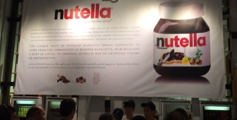 Ouverture d'un bar Nutella : la folie à New-York | L'agroalimentaire, le marketing et moi | Scoop.it
