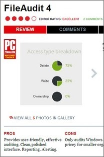 FileAudit 4 Wins PC Mag Editors' Choice for Business Software | IS Decisions | Scoop.it