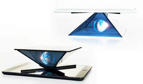HOLHO Holographic Display for Smartphone and Tablet Needs Your Help on Kickstarter | 3D and Technology | Scoop.it