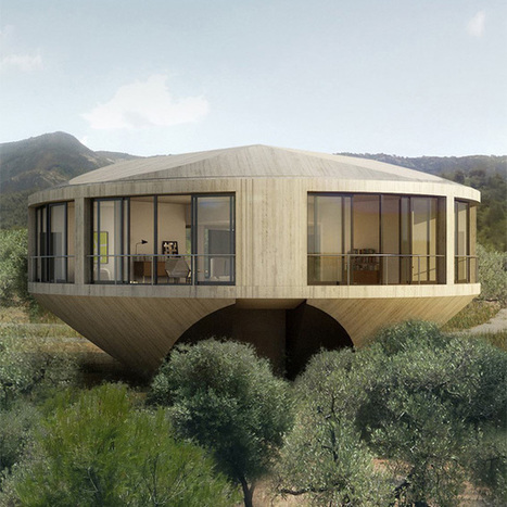 Round House by Johnston Marklee for Solo Houses | MOCO Vote | Social Media, Innovación | Scoop.it