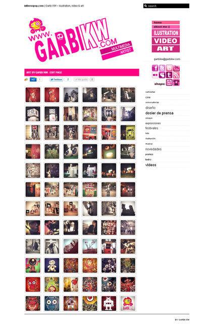 infierno pop by Garbi KW: nueva sección en mi web: ART http ...   VIM   Scoop.it