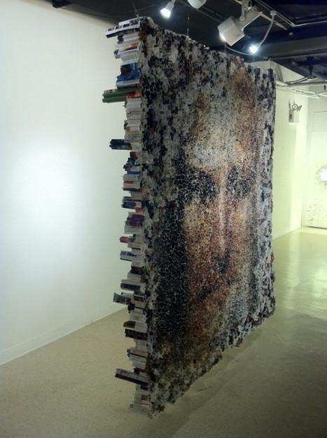 Yunwoo Choi's Large Sculptures Made of Rolled Magazines | Aisthesis | Scoop.it