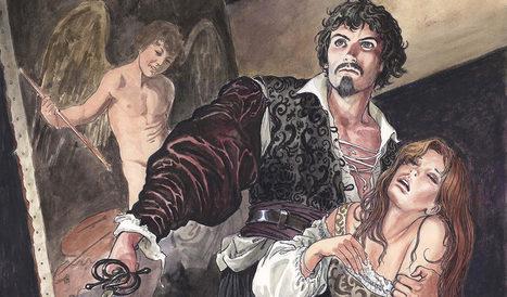 Caravaggio turned Comic book hero by Milo Manara | Italia Mia | Scoop.it