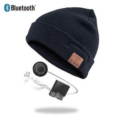 Vibejam plain cuff Bluetooth music beanie hat   Vibejam wireless and portable sound solutions   Scoop.it