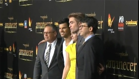 ANTENA 3 TV: The Twilight Saga Breaking Dawn Part 2 Premiere in Madrid (VIDEO) | Robert Pattinson Daily News, Photo, Video & Fan Art | Scoop.it