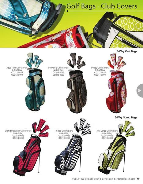 New Spring 2015 Glove It Golf Bags….Coming Soon to... - Lori's Golf Shoppe | Golf Bags | Scoop.it