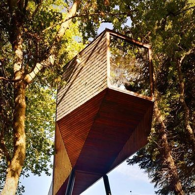 Tree Snake Houses by Luís and Tiago Rebelo de Andrade | Architecture | Scoop.it