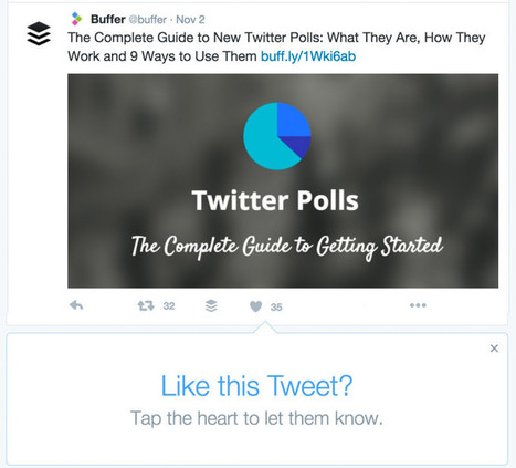 Twitter Hearts: What the Change From Favorites to Likes Could Mean for Your Engagement | Content Strategy |Brand Development |Organic SEO | Scoop.it